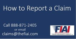 Report insurance claims